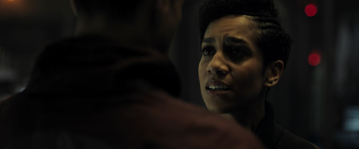 Still of Dominique Tipper in The Expanse.