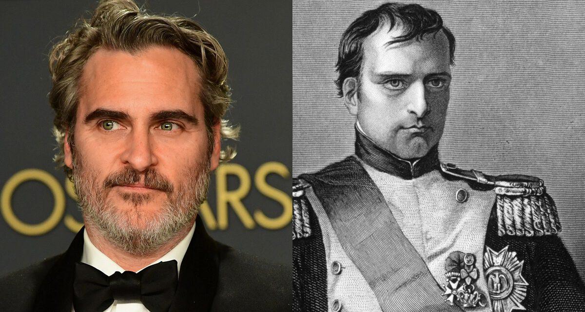 KITBAG Moves Forward With Joaquin Phoenix as Napoleon Bonaparte