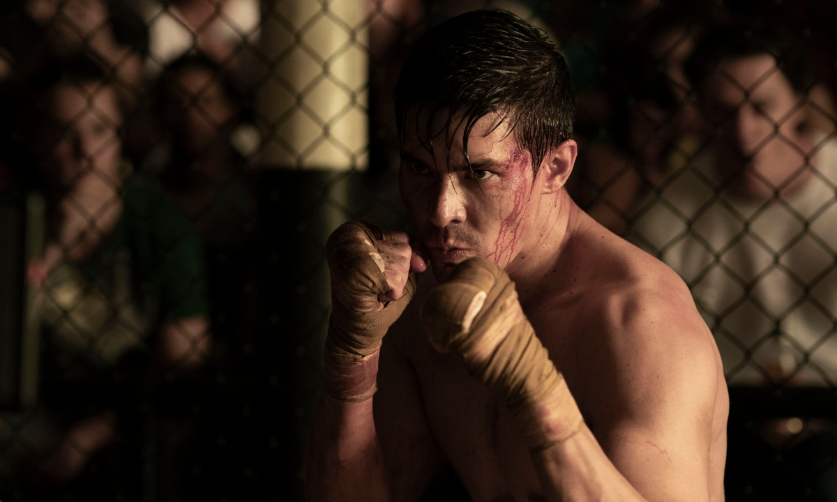 LEWIS TAN as Cole Young in Mortal Kombat.