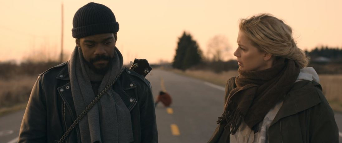 Jovan Adepo, Amber Heard in The Stand