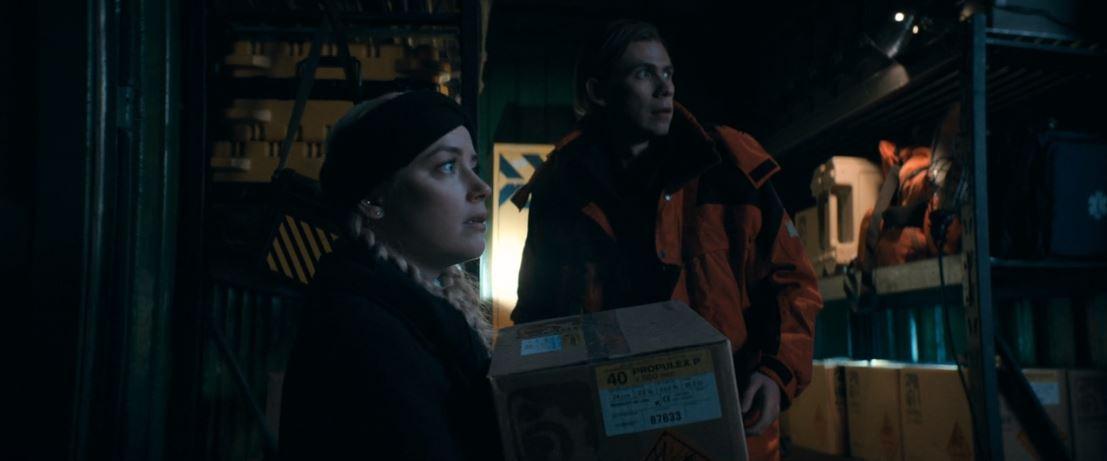 Amber Heard, Owen Teague in The Stand