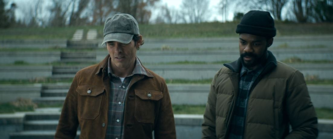 James Marsden, Jovan Adepo in The Stand