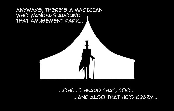 The tale of the magician who could do real magic in Annarasumanara.
