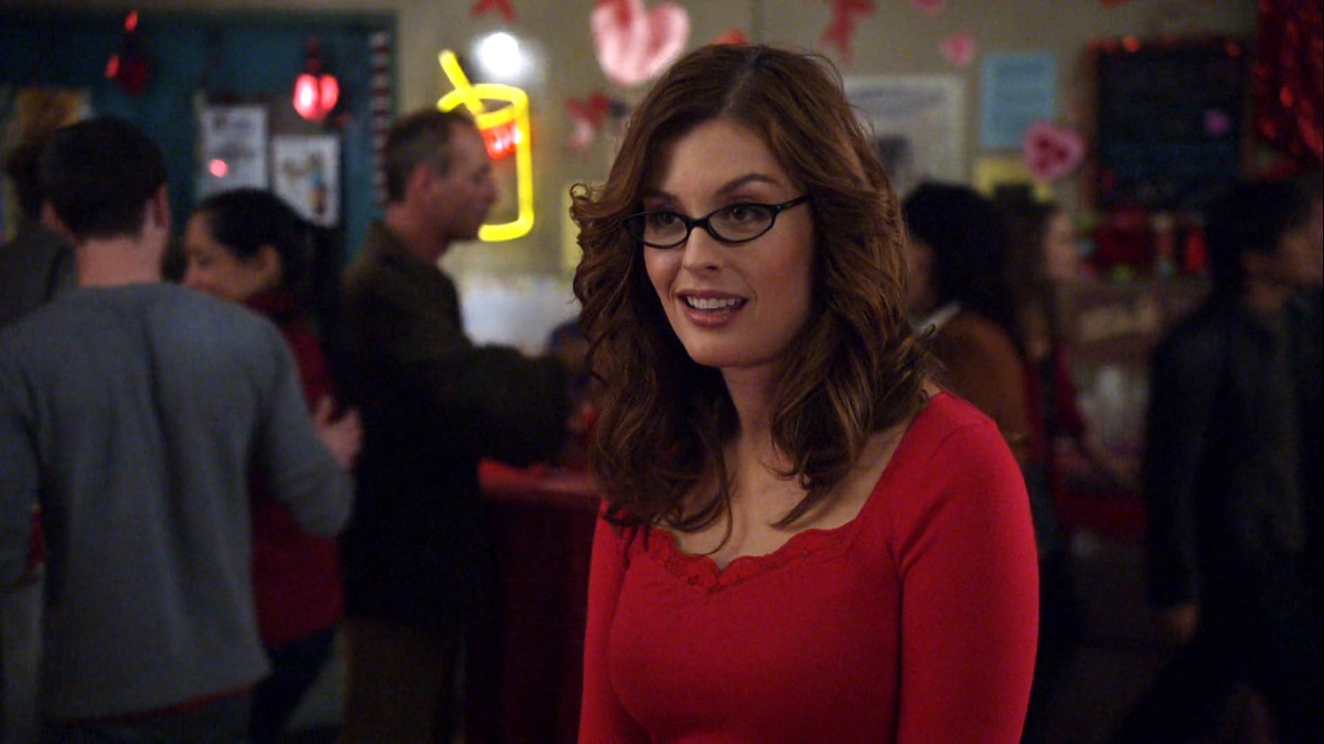 "Still of Maite Schwartz in Community episode ""Early 21st Century Romanticism."""