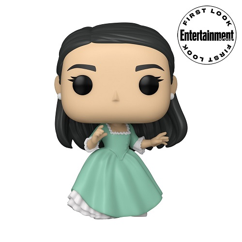 Funko Pop of Hamilton musical character Eliza Schuyler.
