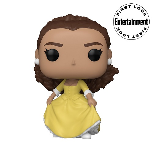 Funko Pop of Hamilton musical character Peggy Schuyler.