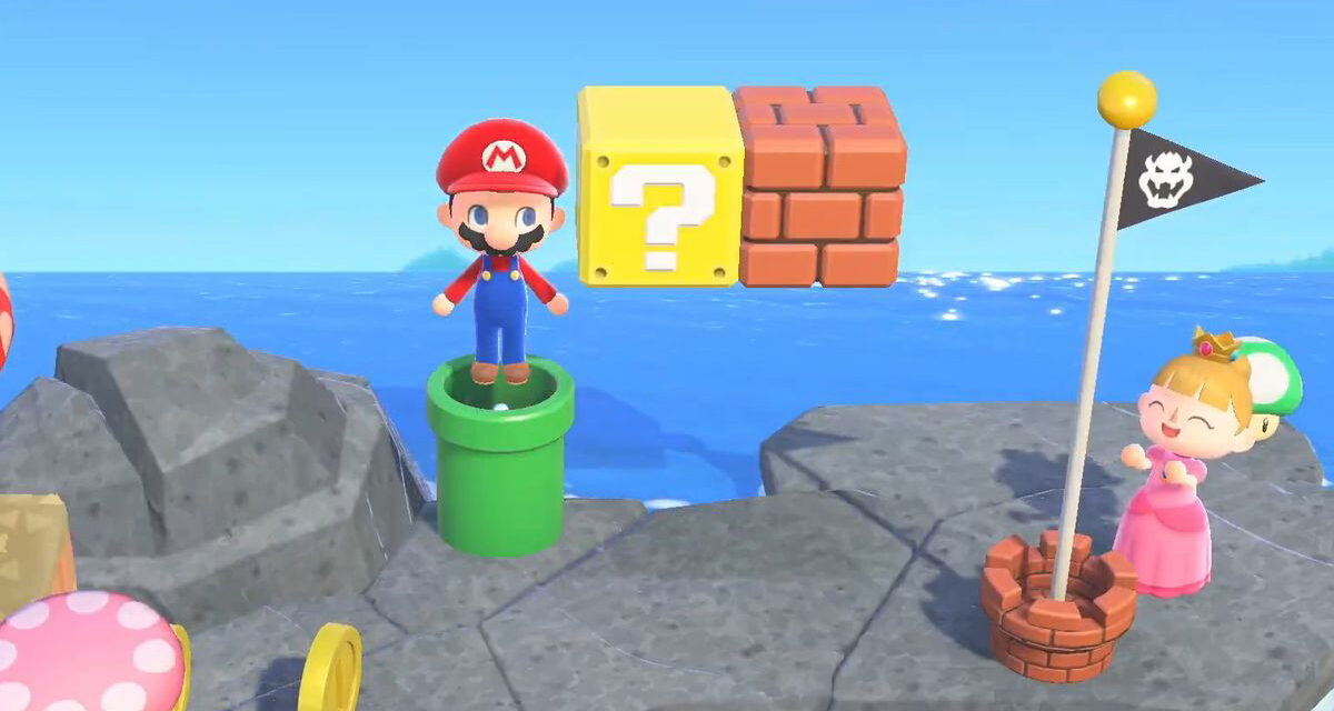 Nintendo Direct Announces SUPER MARIO BROS Update for ANIMAL CROSSING: NEW HORIZONS