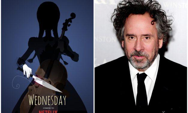 Tim Burton to Helm Live-Action Wednesday Addams Series for Netflix