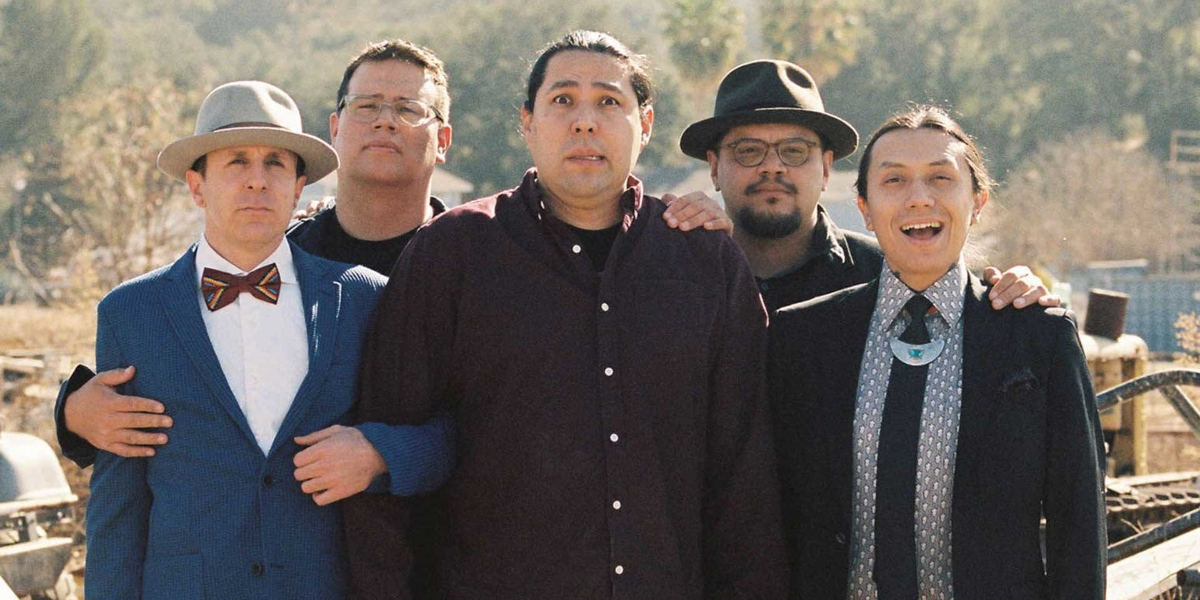 1491's comedy troope Ryan RedCorn, Migizi Pensoneau, Dallas Goldtooth, Sterlin Harjo, Bobby Wilson