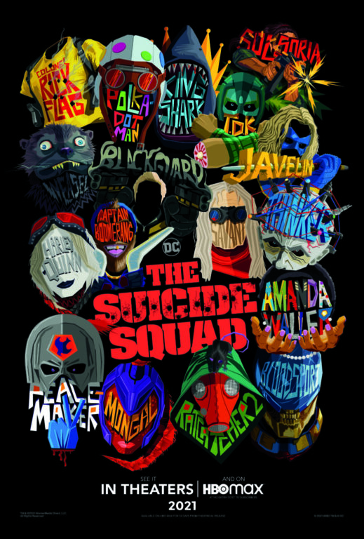 The Suicide Squad Poster Art