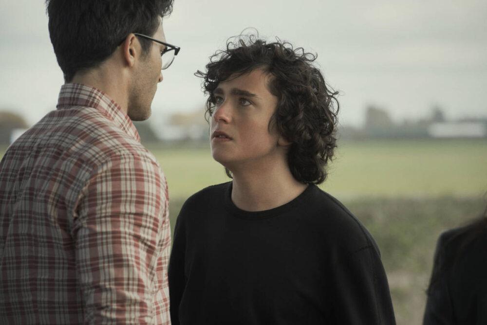 Jordan arguing with Clark.