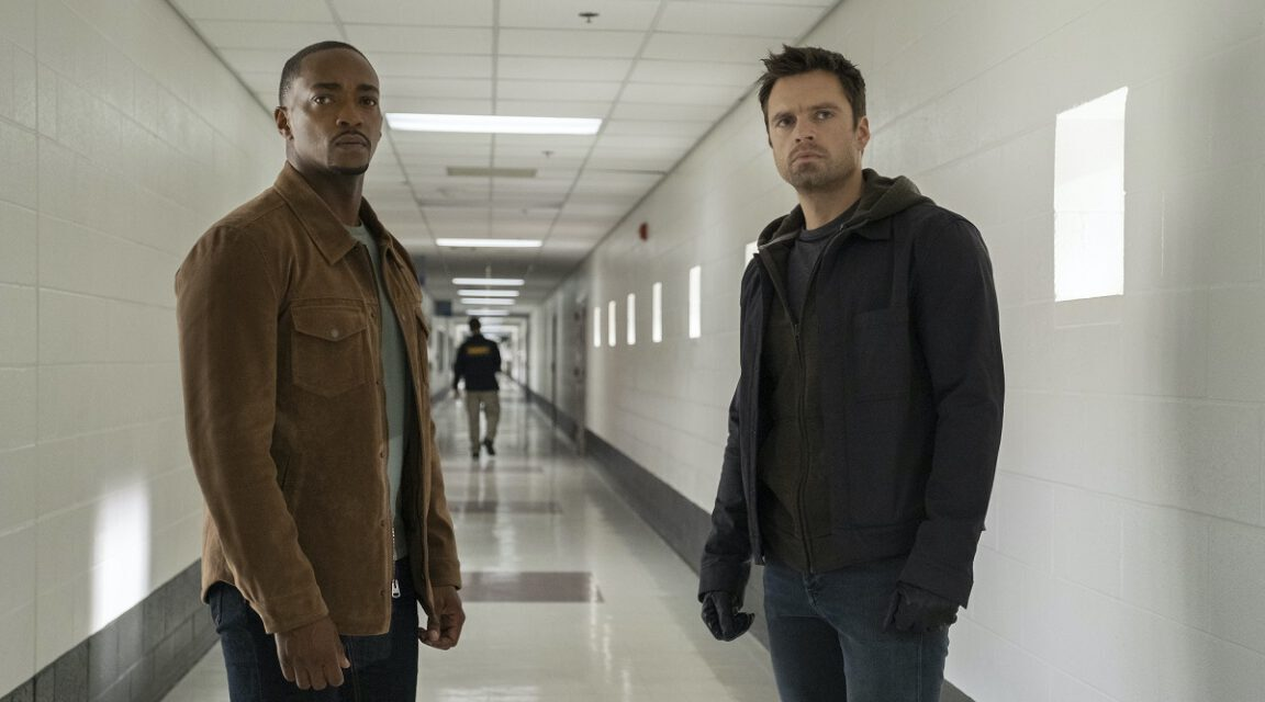 The Bromance Is Real in New FALCON AND THE WINTER SOLDIER Photos