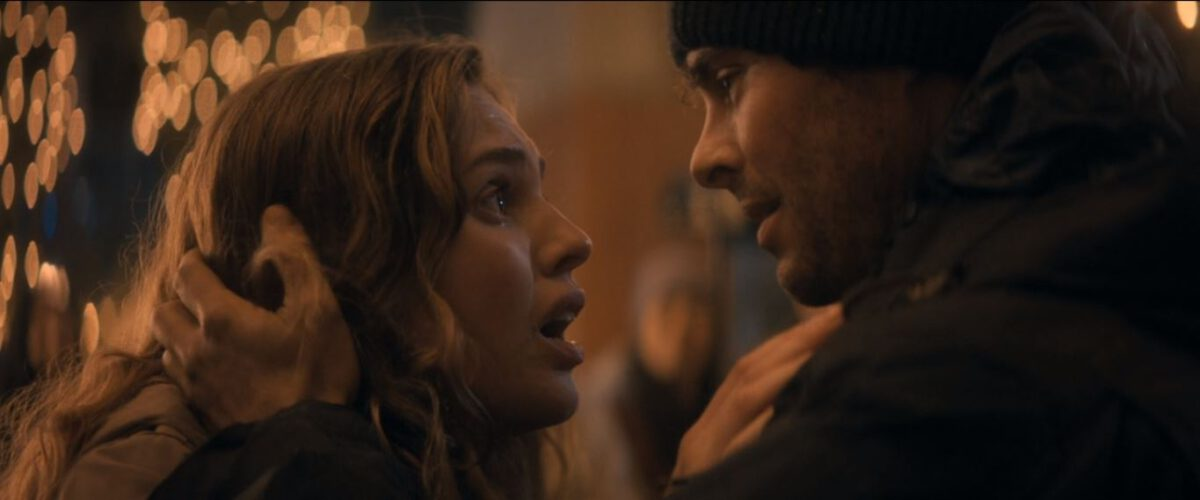 Odessa Young, James Marsden in The Stand