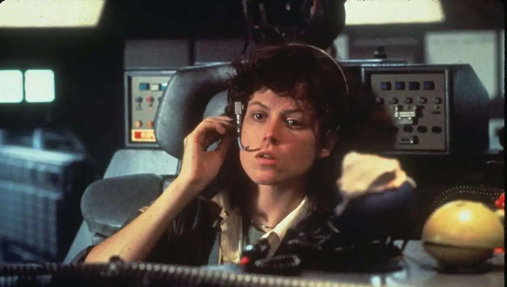 Sigourney Weaver as Ellen Ripley in Alien.