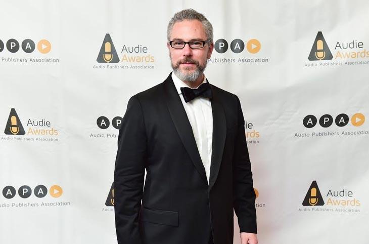 Eric Jason Martin at the Audie Awards.