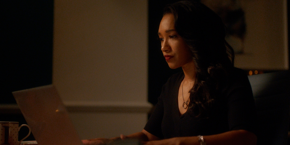 Iris is getting close to finding an escape on The Flash
