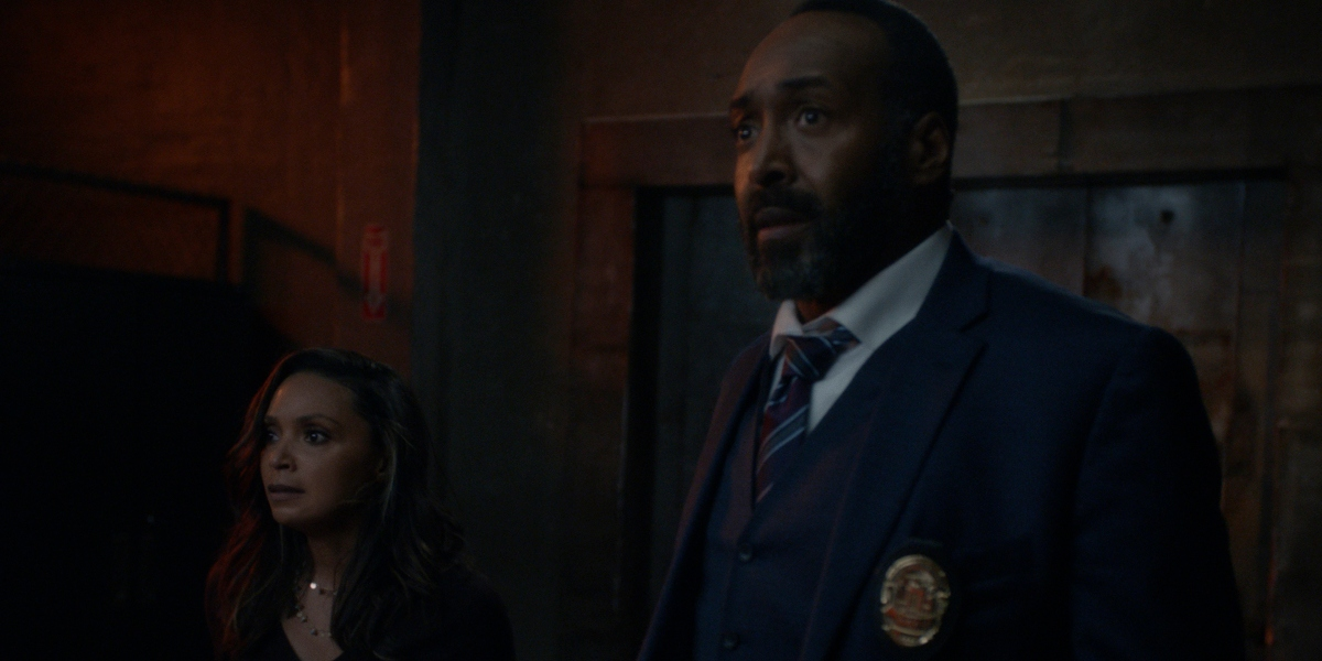 Joe and Cecile face danger together on The Flash
