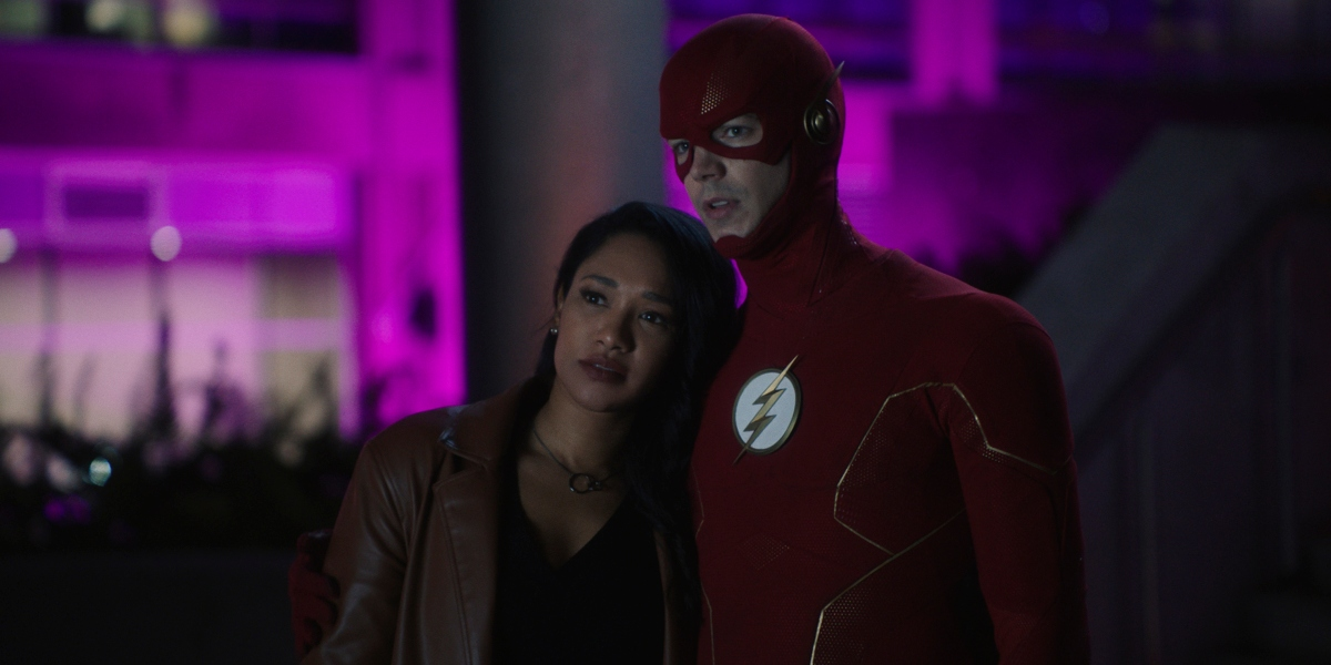 Barry and Iris are back together on The Flash