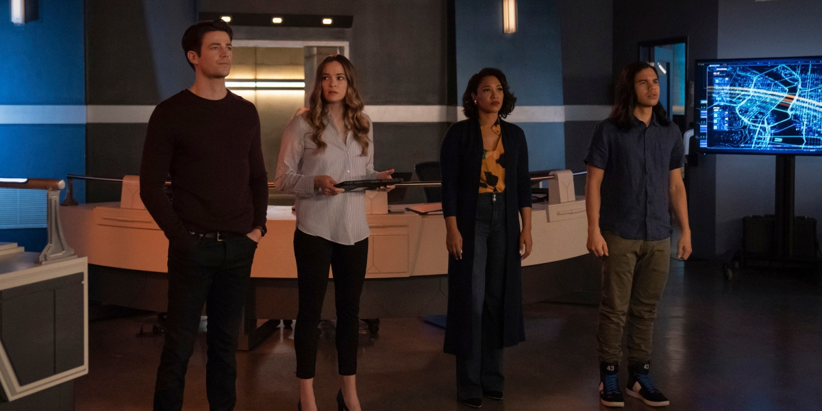 The team assesses a new threat on The Flash