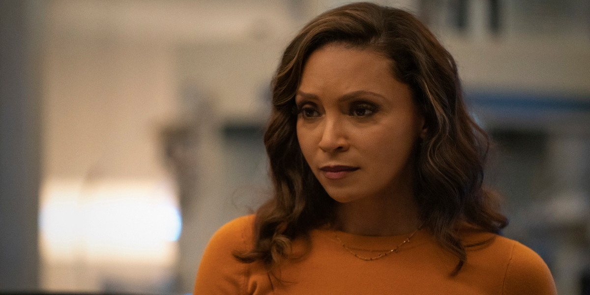 Cecile helps Barry work through his fear on. The Flash