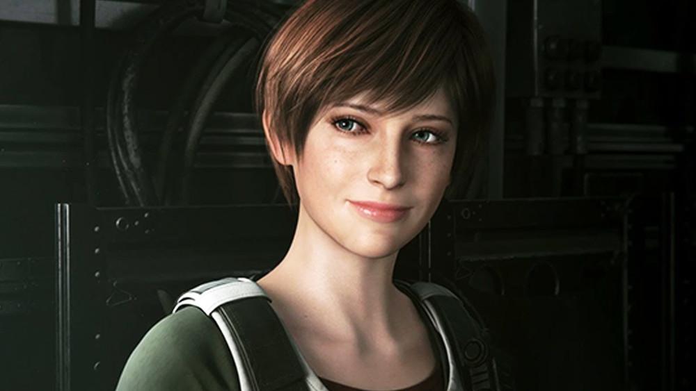 Rebecca Chambers in Resident Evil Revelations 3.