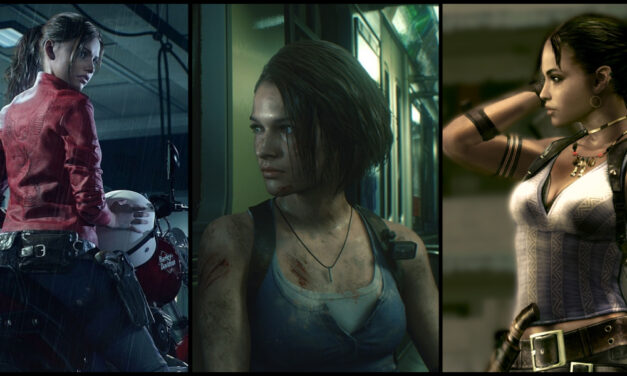 6 Horror Queens from the RESIDENT EVIL Video Game Franchise