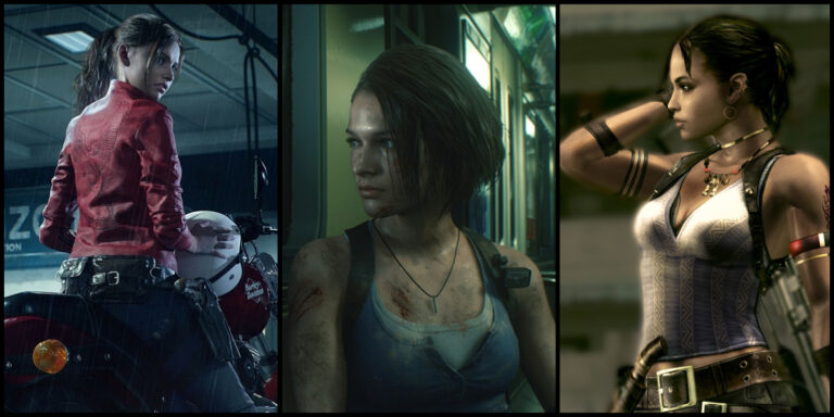 Claire Redfield, Jill Valentine and Sheva Alomar from the Resident Evil Franchise.