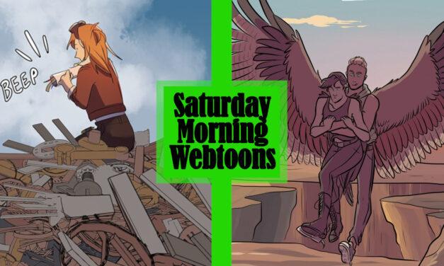 Saturday Morning Webtoons: SKYE and THE CROAKING