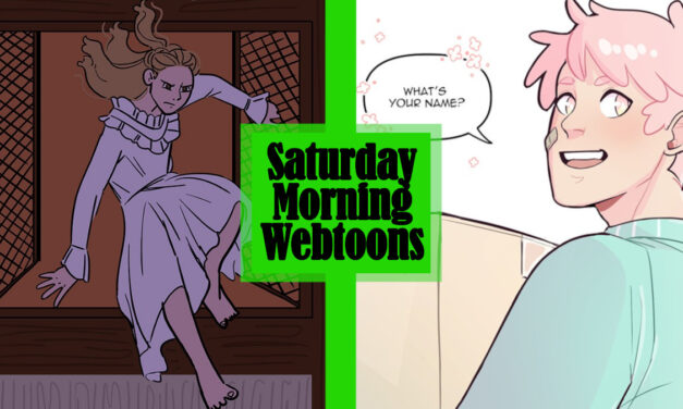 Saturday Morning Webtoons: THE RED ARCHER and REACHING OUT