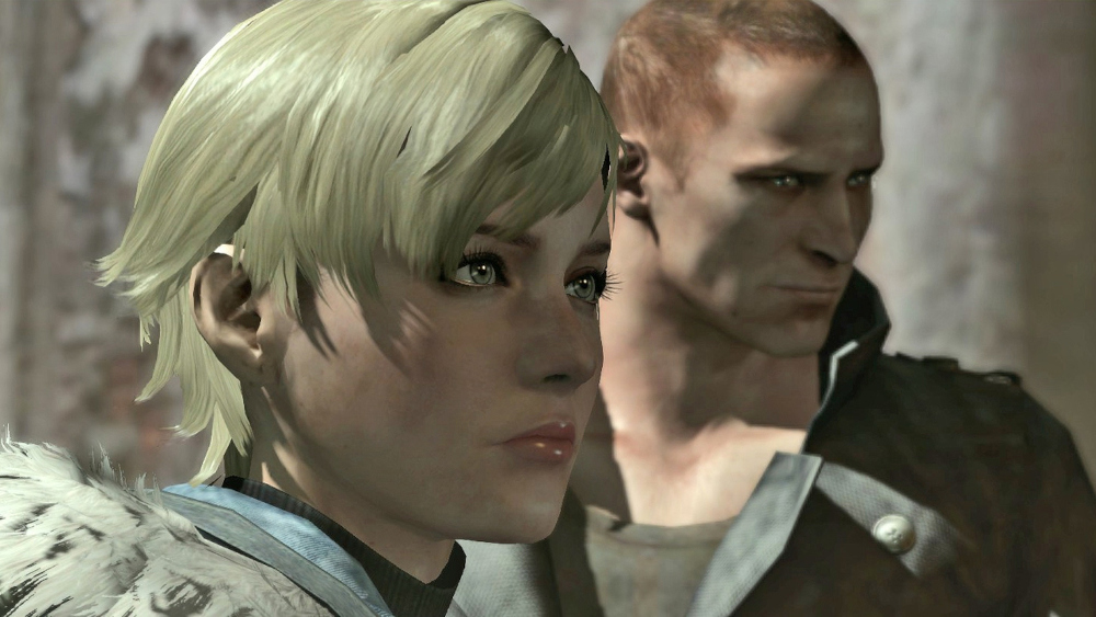 Sherry and Jake in Resident Evil 6.