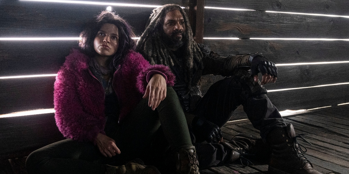 Princess and Ezekiel try to come up with a plan to save their friends on The Walking Dead