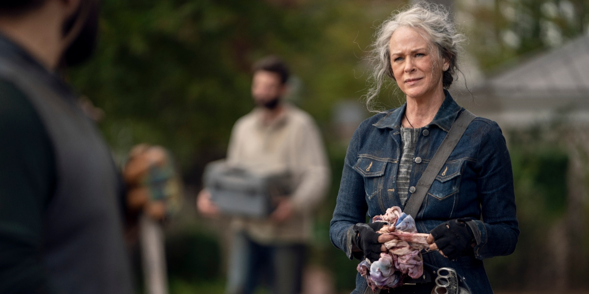 Carol looks for something to get her mind off of her problems on The Walking Dead