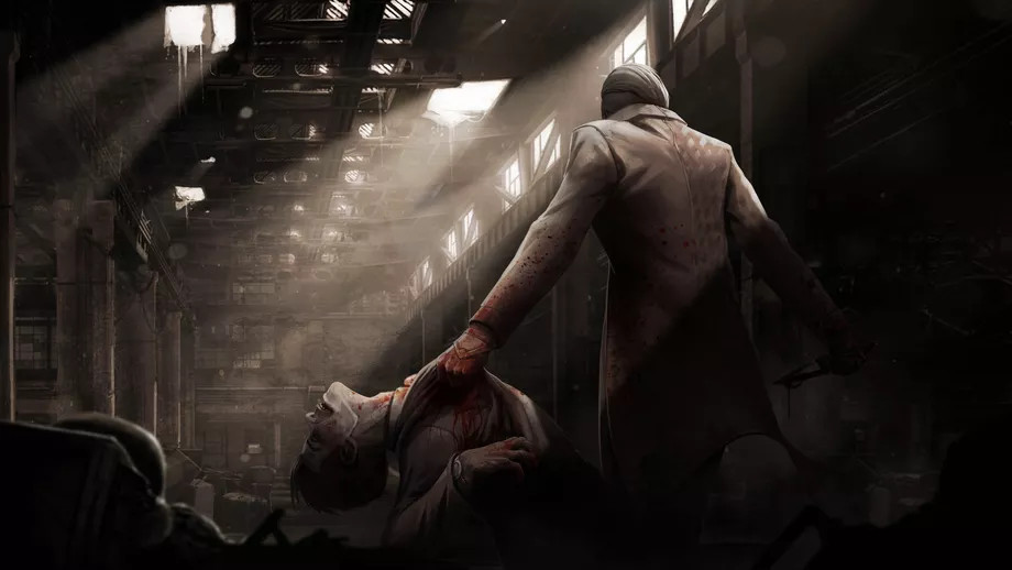 The Trickster carrying one of his victims.