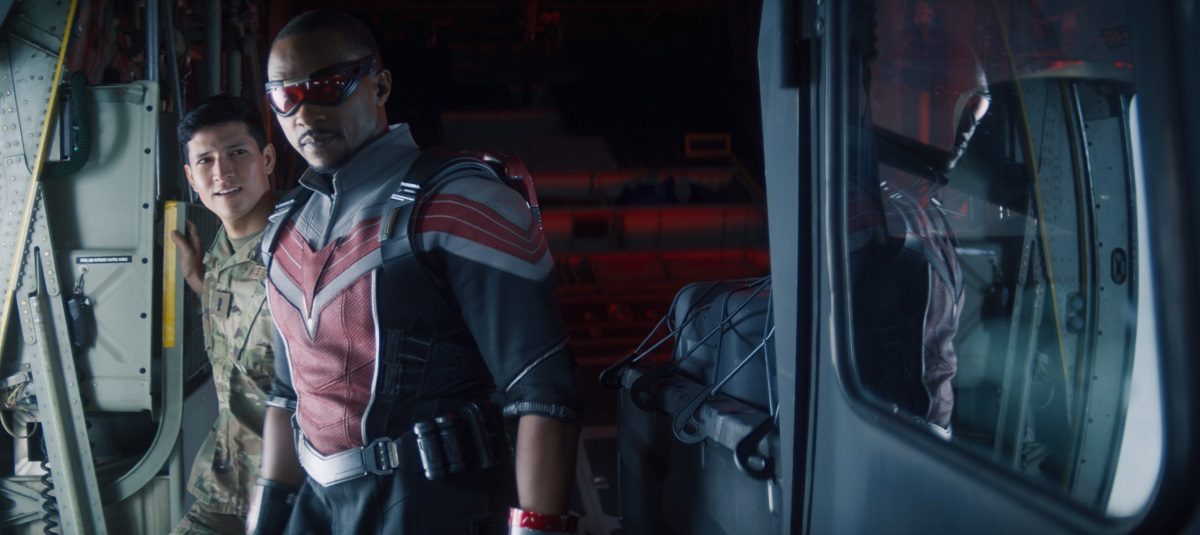 """Still of Anthony Mackie in """"The Star-Spangled Man."""""""