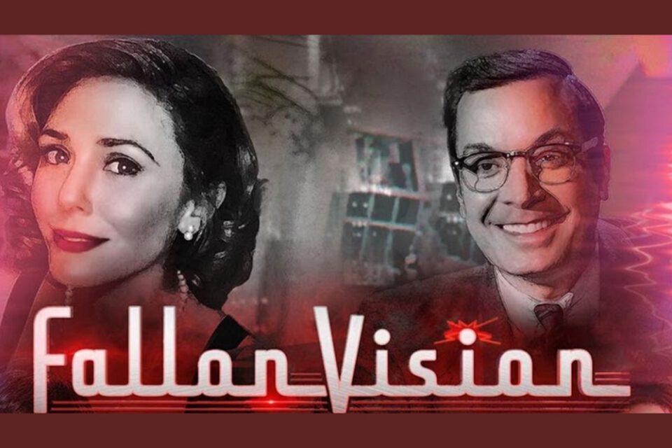 Watch Elizabeth Olsen and Jimmy Fallon Warp Reality in WANDAVISION Parody