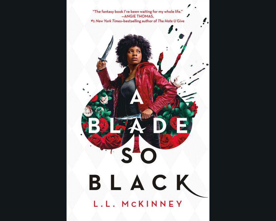 A Blade so Black book by L.L. McKinley.