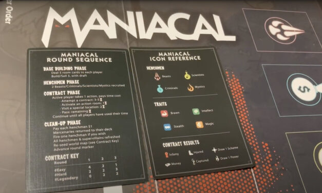 Review: MANIACAL- Chillin' Like A Super Villain
