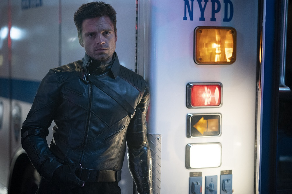 """Still of Sebastian Stan in The Falcon and the Winter Soldier episode """"One World, One People."""""""