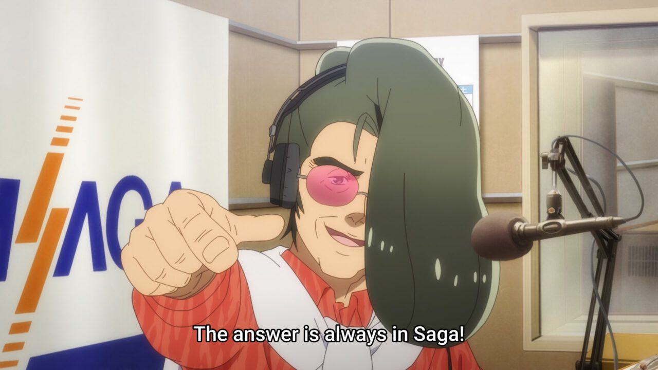 White Ryu, an aging glam rocker (Zombie Land Saga Revenge, season 2, episode 2)