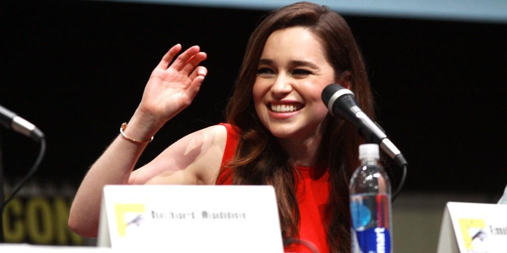 Whoa Momma! Emilia Clarke Is Writing a Comic!