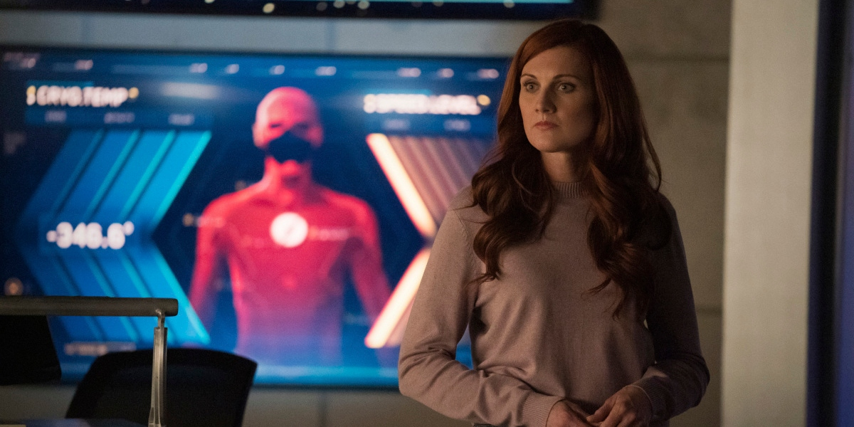 Iris tells the Speed Force Nora more about Barry on The Flash