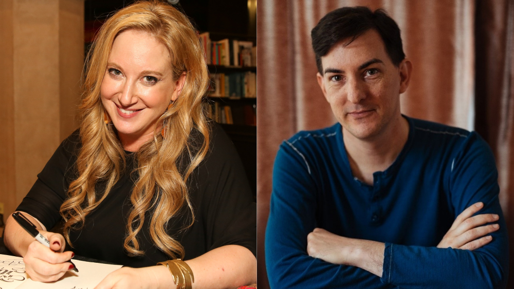 Leigh Bardugo and Eric Heisserer