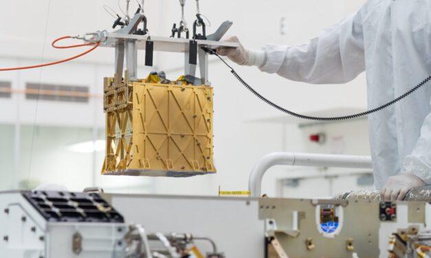 NASA's Perseverance Mars Rover Creates Oxygen on Mars