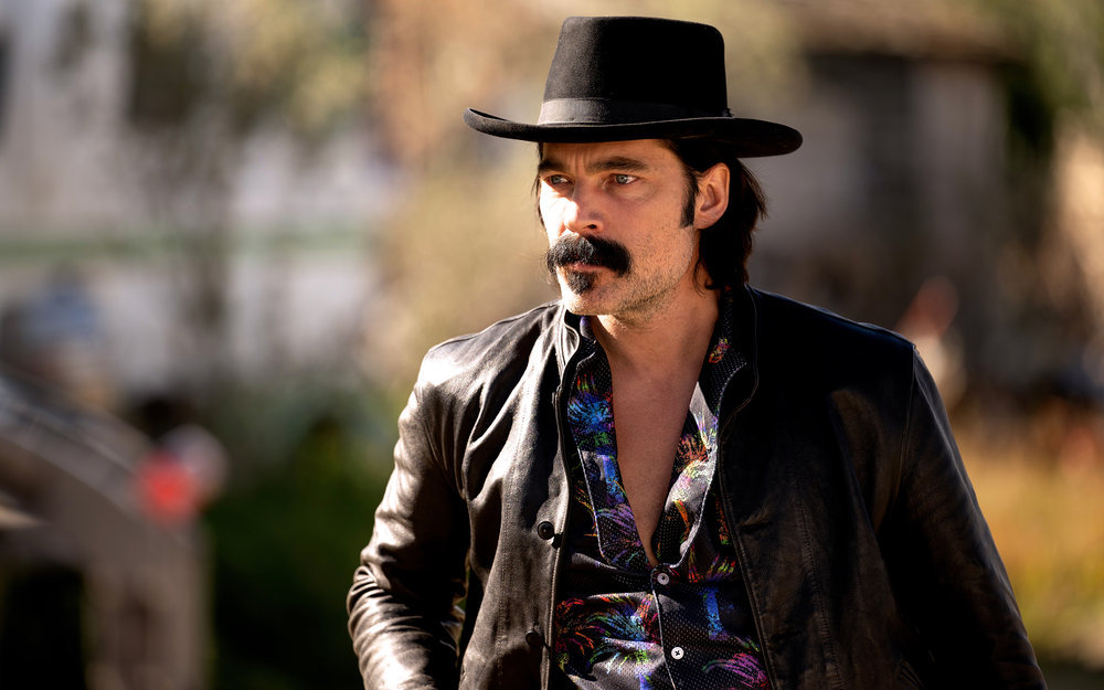 """Still of Tim Rozon in Wynonna Earp episode """"Better Dig Two."""""""