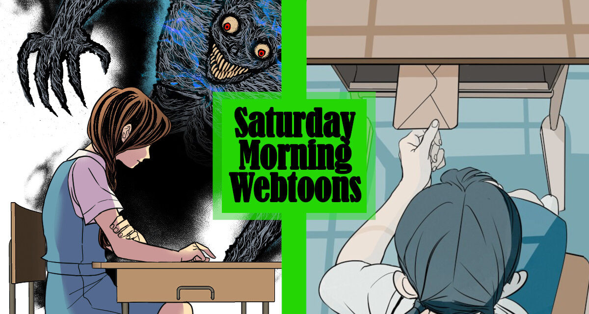 Saturday Morning Webtoons: THE WEIGHT OF OUR SKY and YOUR LETTER