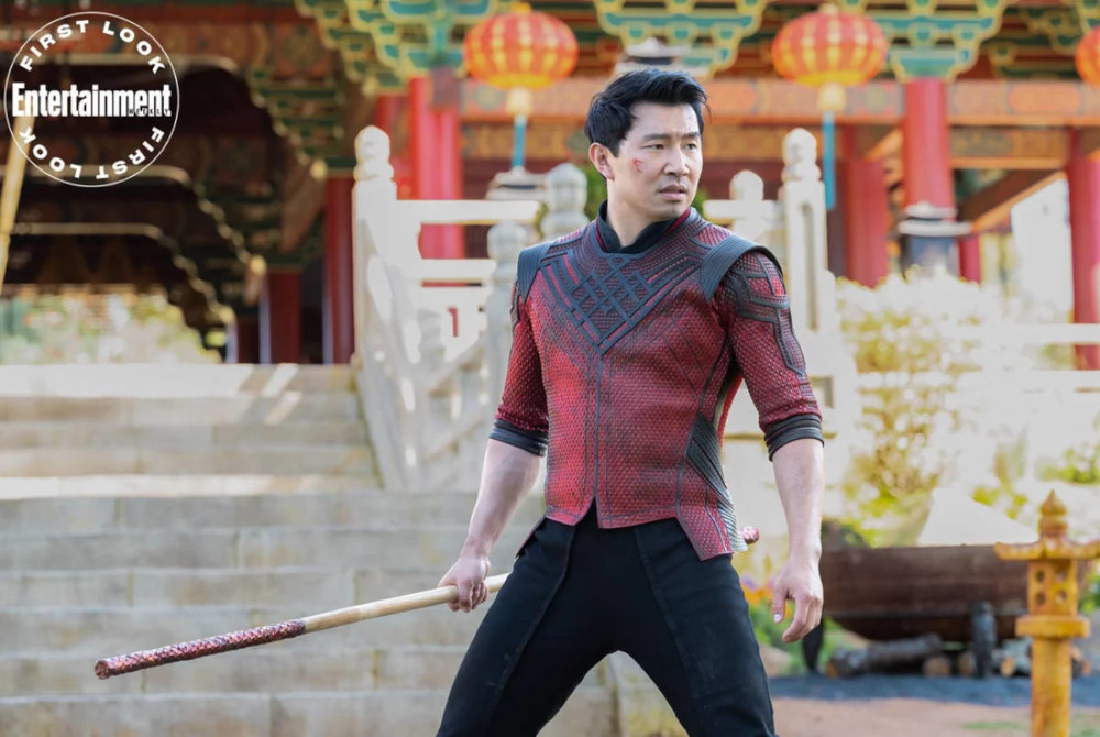 Shang-Chi dressed for action in EW first look image.