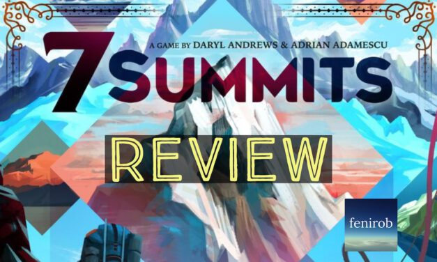7 SUMMITS Board Game: Unboxing, Playthrough, and Review