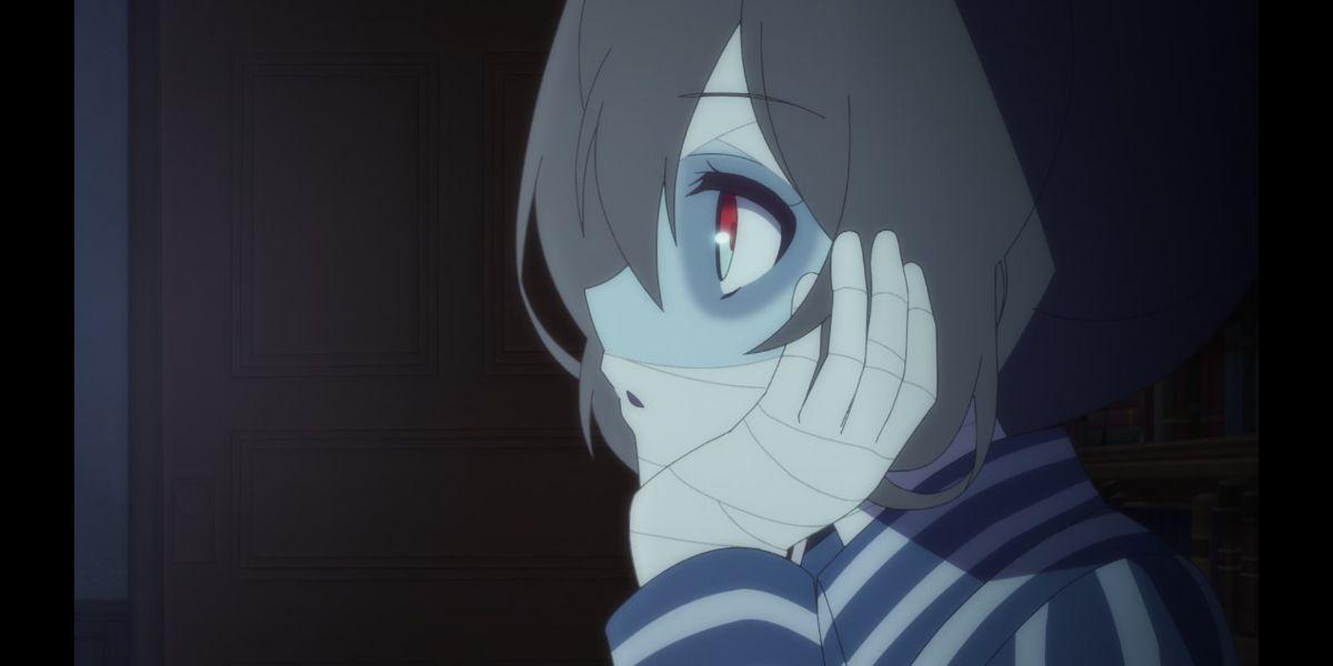 Ai watching other idols do routines  (Zombie Land Saga Revenge season 2 episode 3)