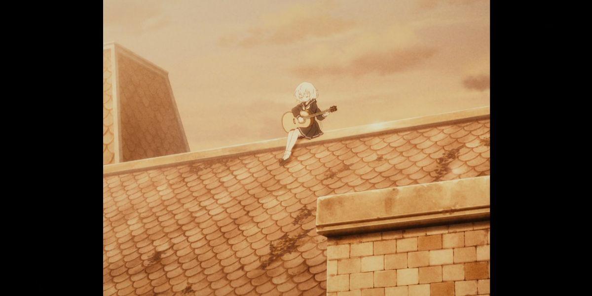 Junko on the roof  (Zombie Land Saga Revenge season 2 episode 3)