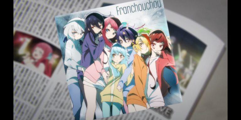 a Franchouchou CD (Zombie Land Saga, Season 2, Episode 1)